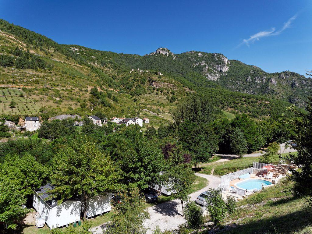 Les vignes camping terrados gorges du tarn for Camping gorges du tarn avec piscine